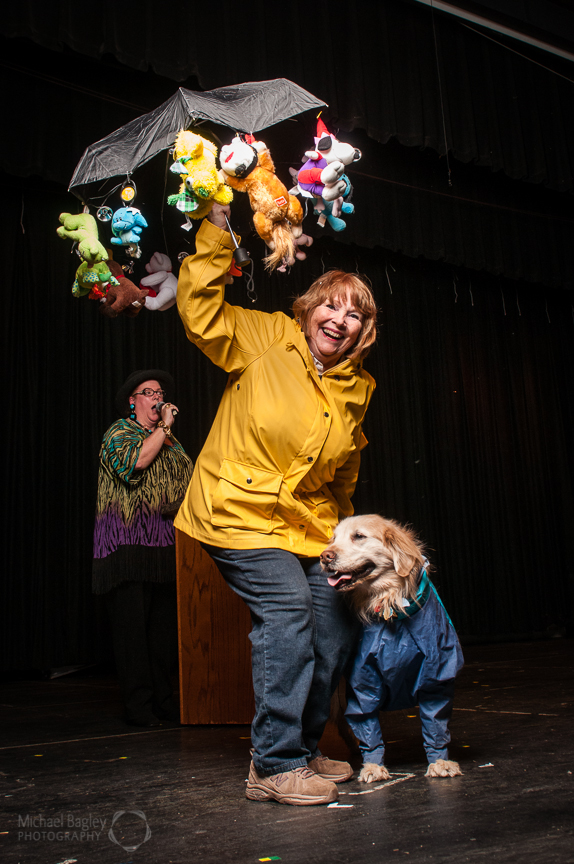 Pat and Simon - it's raining cats and dogs!